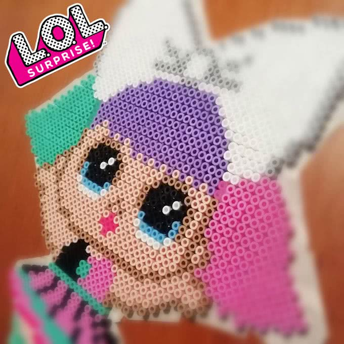 LOL con le Hama Beads