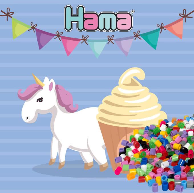 Cupcake unicorno kawaii
