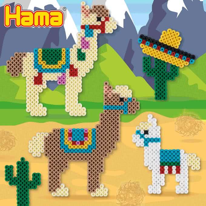Lama con Hama beads