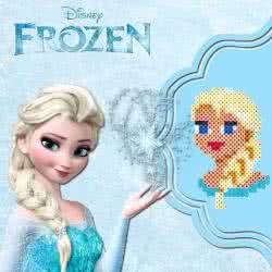 Frozen con  le Hamabeads