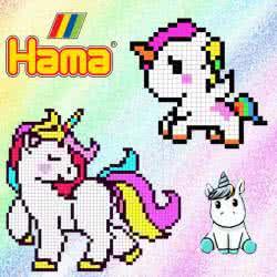 Unicorni con Hama beads