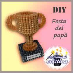 Coppa 3D Hama Beads