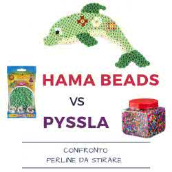 Hama Beads vs Pyssla