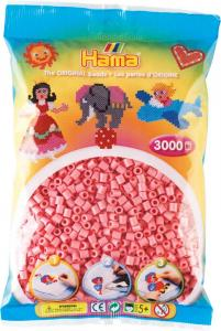 Hama Beads Midi 3000 pezzi - Rosa n.6