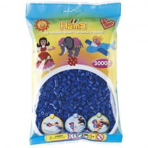 Hama Beads Midi 3000 pezzi - Blu n.8