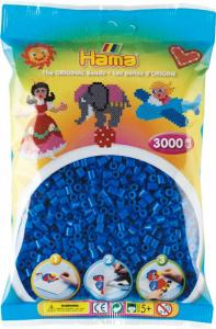 Hama Beads Midi 3000 pezzi - Blu medio n.9