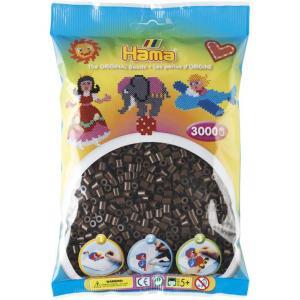 Hama Beads Midi 3000 pezzi - Pyssla Marrone Scuro n.12
