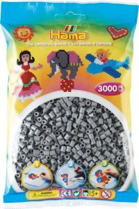 Hama Beads Midi 3000 pezzi - Grigio  n.17