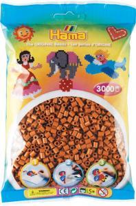 Hama Beads Midi 3000 pezzi - Marrone chiaro n.21