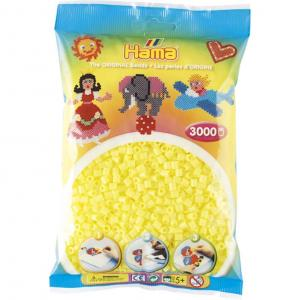 Hama Beads Midi 3000 pezzi - Giallo Pastello n.43
