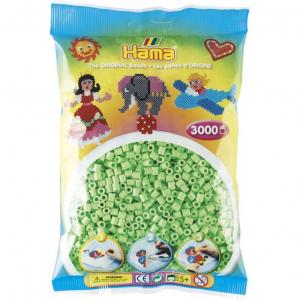 Hama Beads Midi 3000 pezzi - Verde pastello n.47