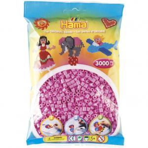 Hama Beads Midi 3000 pezzi - Rosa Pastello n.48