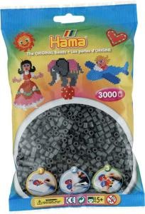 Hama Beads Midi 3000 pezzi - Grigio scuro n.71