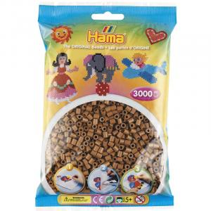 Hama Beads Midi 3000 pezzi - Marrone Cioccolato n.76