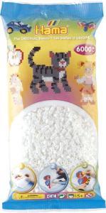Hama Beads Midi 6000 pezzi - Bianco n.1