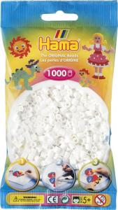 Hama Beads Midi 1000 pezzi - Bianco  n.1