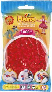 Hama Beads Midi 1000 pezzi - Rosso  n.5