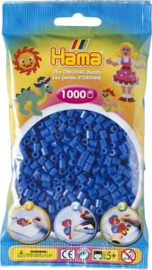Hama Beads Midi 1000 pezzi - Blu medio n.9