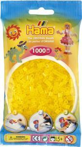 Hama Beads Midi 1000 pezzi - Giallo traslucido n.14