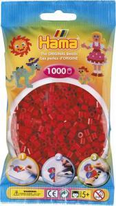 Hama Beads Midi 1000 pezzi - Rosso Scuro n.22