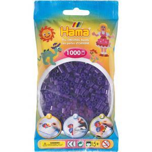 Hama Beads Midi 1000 pezzi - Viola traslucido n.24