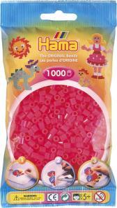 Hama Beads Midi 1000 pezzi - Fucsia neon n.32