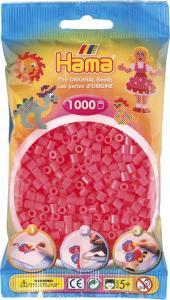Hama Beads Midi 1000 pezzi - Rosso ciliegia n.33