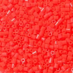 Hama Beads Midi 1000 pezzi Pyssla Rosso neon n.35 (neon red)