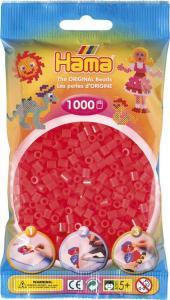 Hama Beads Midi 1000 pezzi - Rosso neon n.35