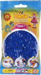 Hama Beads Midi 1000 pezzi - Blu neon n.36