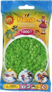 Hama Beads Midi 1000 pezzi - Verde neon n.37