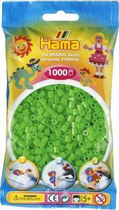 Hama Beads Midi 1000 pezzi - Verde fluorescente n.42