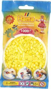 Hama Beads Midi 1000 pezzi - Giallo pastello n.43