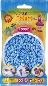 Hama Beads Midi 1000 pezzi - Azzurro pastello n.46
