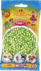 Hama Beads Midi 1000 pezzi - Verde pastello n.47