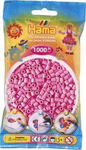 Hama Beads Midi 1000 pezzi - Rosa pastello n.48