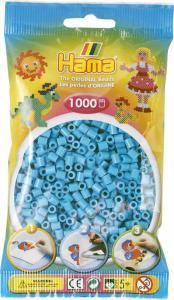 Hama Beads Midi 1000 pezzi - Turchese n.49