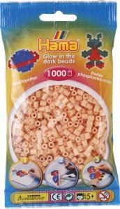 Hama Beads Midi 1000 pezzi - rosso brilla nel buio n.56