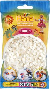Hama Beads Midi 1000 pezzi - Bianco perlato n.64