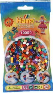 Hama Beads midi 1000 pezzi - 50 colori