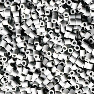 Hama Beads Midi 1000 pezzi pyssla Grigio chiaro n.70 (light grey)