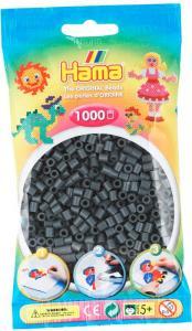 Hama Beads Midi 1000 pezzi - Grigio scuro n.71