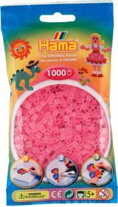 Hama Beads Midi 1000 pezzi - Rosa traslucido n.72