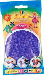 Hama Beads Midi 1000 pezzi - Lilla traslucido n.74