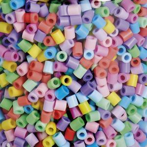 Cestello Hama Beads Midi 10000 Pezzi Mix Pastello