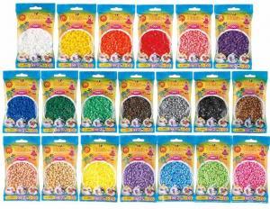20 Bustine Hama Beads Midi Pyssla