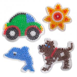 4 basi midi - cane, macchina, pesce, fiore
