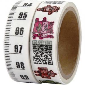 Washi tape - 2 rotoli