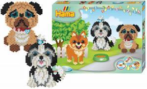 Confezione regalo grande Hama Beads Midi - Cagnolini