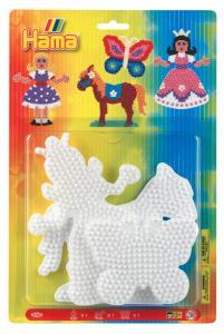 Base per perline Midi (principessa, cavallo, farfalla)